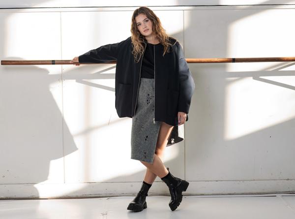 EBBY PORT WRAPP skirt